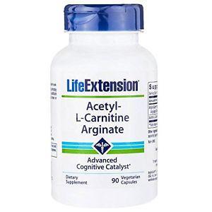 Acetyl-L-Carni tine Arginate - 90 Vegetarian Capsules