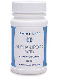 Alpha-Lipoic Acid 150 mg - 60 Vegetarian Capsules