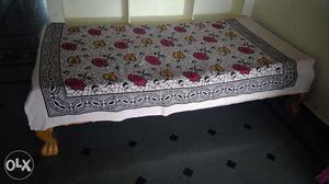 Brand New Diwan Cot With Matress - 3 X 6 Feet