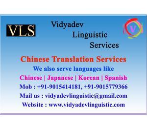 CHINESE TRANSLATOR IN NOIDA CALL  Noida