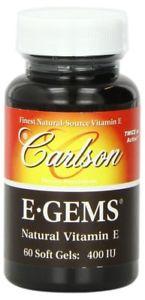 E-Gems 400 IU - 60 Soft Gels
