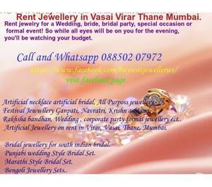 Rent Jewellery on Rent Vasai Virar Thane Mumbai Mira