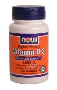Vitamin D- IU - 120 Softgels