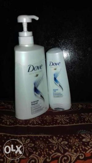 650 ml dove shampoo 180 ml conditioner
