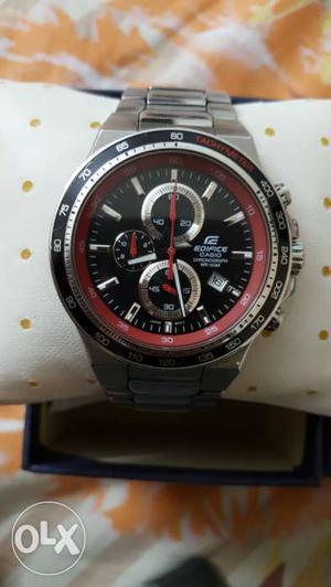 Casio Edifice Chronograph watch, 1 Year old..MRP