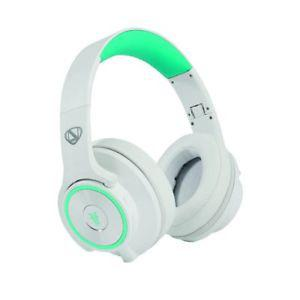 RadioShack Ncredible Flips - Aqua & White Over Ear