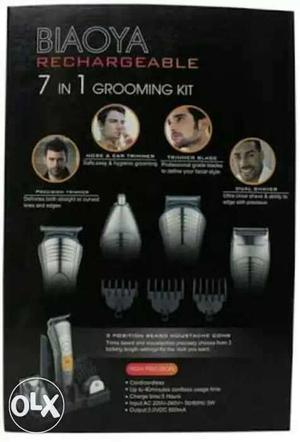 TRIMMER RECHARGEABLE one 7 in 1 grooming all over