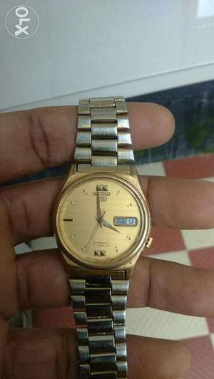 SEIKO 5 Automatic watch perfect working condition/fixed