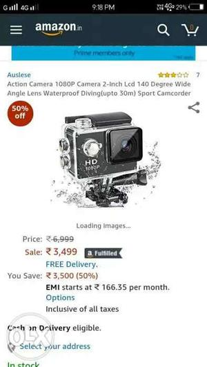 Action camera for sell in an unbelievable price