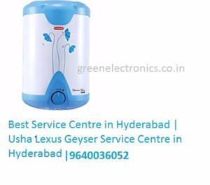 Best Service Centre in Hyderabad | Usha Lexus Geyser Service