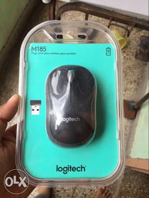 Logitech M185 wireless mouse..New seal pack...