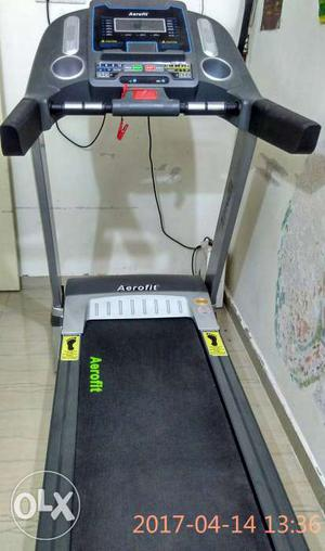 New aerofit treadmill..used only  days..for