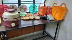New plastic plates, trays, baskets,yashica MG2