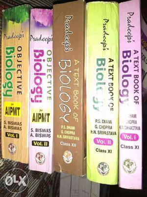 PRADEEPS BIOLOGY BOOK SET FOR ALL MEDICAL
