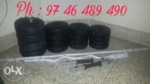 Weights and bars sets