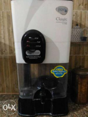 White Pure Water Purifier Dispenser