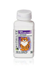 Amway NUTRILITE Kids Chewable Iron 100N tablets Fresh Stock