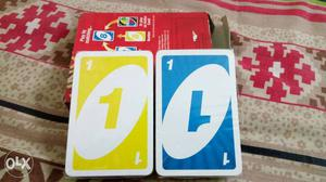 Brand new packed UNO playing cards plastic packed
