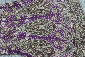 Gorgeous Stone Studded Purple Lehnga with Dupatta