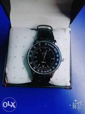 JMS quartz watch, with international warranty and