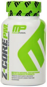 (New) Free Shipping Muscle Pharm Z-Core PM Capsules, 60