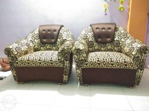 Two chairs with very good condition (selling due