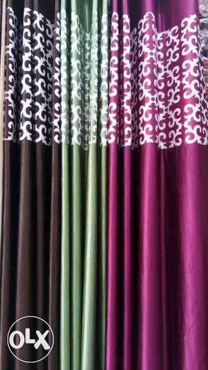 9 ft curtain at just 360/- guaranteed heavy crush