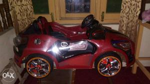 Battery operated toy car.. seating capacity for 2