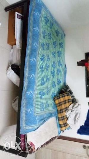Big size Iron bed for sale at magarpatta city