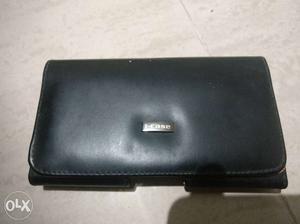 Black Leather Mobile case