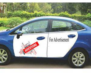 Cab advertising Service in delhi New Delhi