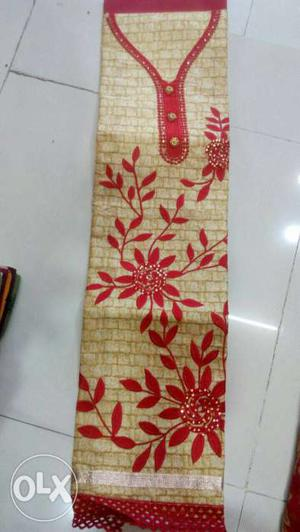 Designer fancy stylish embroidey work suits