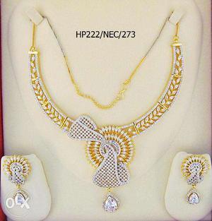 Fashionage American Diamonds Beautiful And Unique Design
