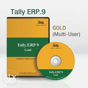 Genuine Tally ERP 9 Gold India Unlimited Multi Users Edition