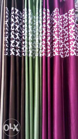 Heavy crush curtain at just 330/- available in