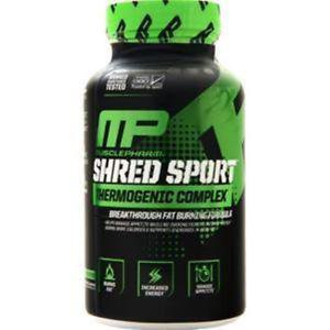 Muscle Pharm Shred Sport - Thermogenic Complex 60 caps