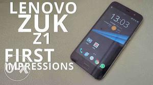 Lenovo zuk z1 6month old phone is ready for