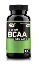 Optimum Nutrition BCAA  Caps --  mg - 60 Capsules