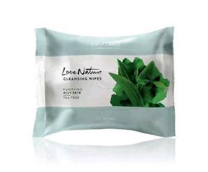 Oriflame Love Nature Cleansing Wipes Tea Tree (25 Wipes)