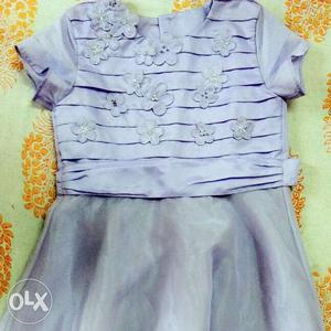 Party Frock for 4 to 6 years old
