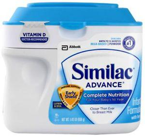 Similac Advance Complete Nutrition Infant Formula with Iron