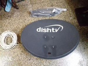 Selling of dishtv dish in excellent condition with 3 dishtv