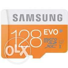 128 GB memory card,48mb/sec transferring speed