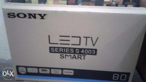 32 inch sony smart led tv with wall mount n fiting