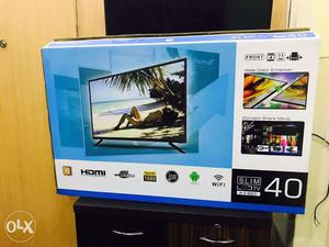 40 inch sony smart led tv with fitting n wall mount
