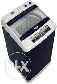 Black Top Load Whirlpool Washing Machine