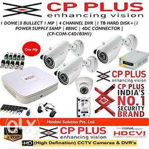 Brand New HD cctv camera 2year warranty full kit