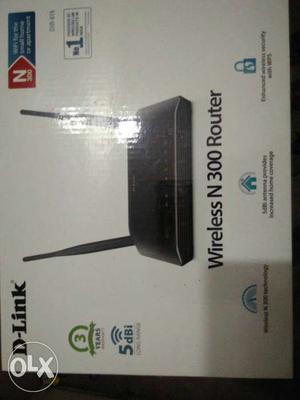 D-Link Wireless N300 Router Box