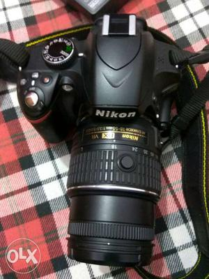 Nikon D DSLR camera with mm lens with