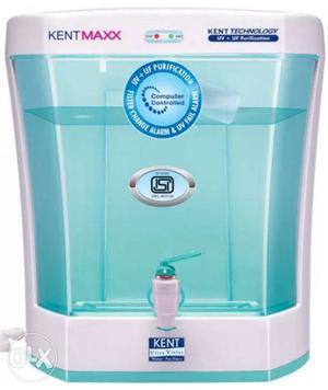 White Kent Maxx Water Purifier Dispenser